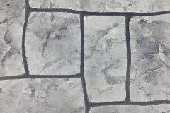 Patterned Stamped Overlay - Ashlar Slate