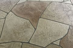 Patterned Stamped Overlay - Random Stone